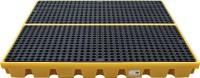 Платформа - контейнер на 4 х 205 л бочки, для ЛРТЖ, нагрузка до 2000 кг, емкость 240 л (Код: SJ-300-006)