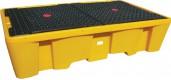 Пластиковый поддон контейнер для 2х IBC кубов