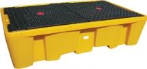 Пластиковый поддон контейнер для 2х IBC куб