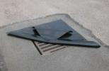 Заглушка дренажной решетки, для ТС, многоразовая, 910 х 910 х 3 мм
