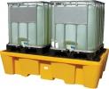 ластиковый поддон контейнер для 2х IBC куб