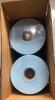 Салфетки обтирочные универсальные, 500 штук, 25х38 см, в рулоне