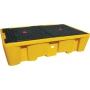 Поддон - контейнер, 1100 л, для 2х IBC кубов, опора, решетка, для ЛРТЖ