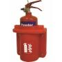 Пластиковый пенал для огнетушителя 2 кг JFEX03
