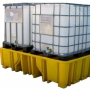Поддон - контейнер для 2х IBC кубов без решетки и опор (штабелируемый)